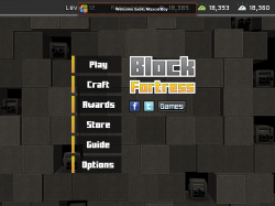 BLOCK FORTRESS или Shooter,RPG,TD,Minecraft