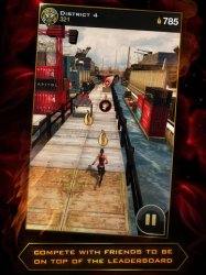 Голодные игры на ios - Hunger Games: Catching Fire — Panem Run.