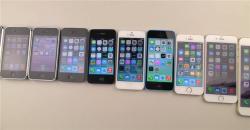 Тест на прочность всех айфонов