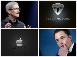 ���������: Apple ����� �������� Tesla Motors �� ��������� 18 �������