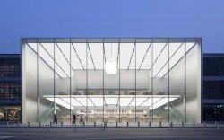 В Сети опубликовали фотографии нового китайского Apple Store