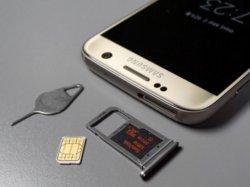 ��������� micro SD � 2-� SIM-���� ������������  ��������� Samsung Galaxy S7 Edge